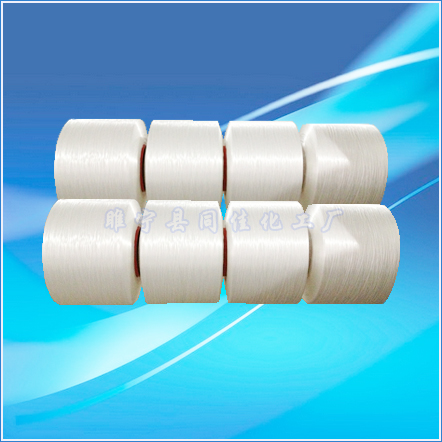 High-strength polypropylene yarn for rope